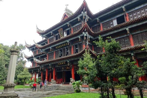 วัดเหวินซู (Wenshu Temple)