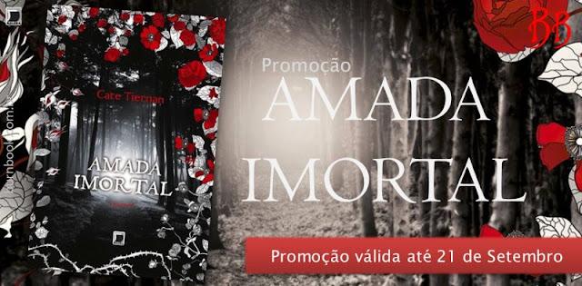 Promo: Amada Imortal, de Cate Tiernan. 17