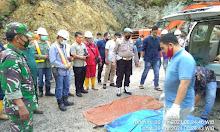 3 Meninggal Longsor di Areal Proyek PLTA Batang Toru