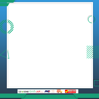 Contoh template frame produk marketplace PNG HD 3