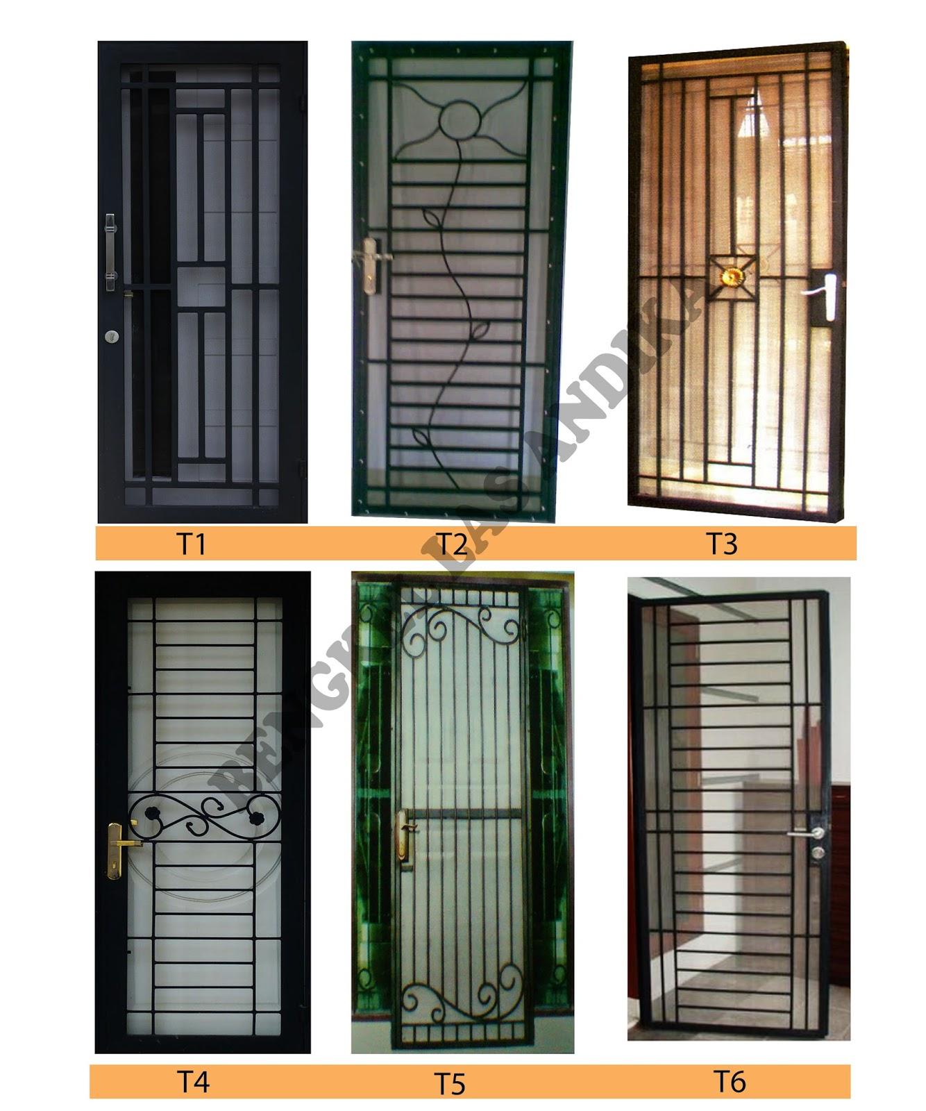 Katalog Teralis Pintu Bengkel Las Andika