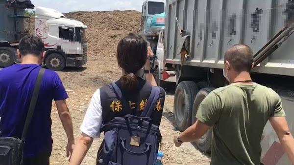 租地違法廢棄物堆置溪州鄉 彰化縣環保局移送地檢署偵辦