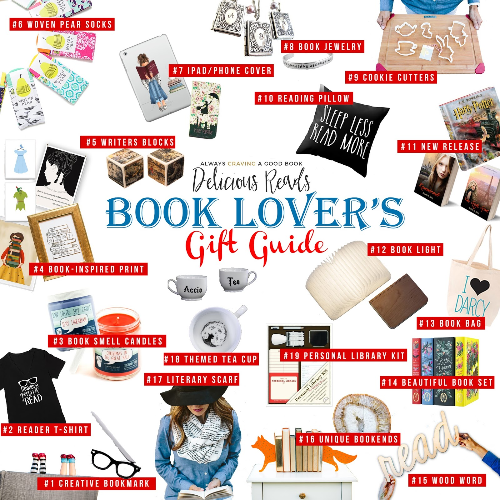Book Lover Gift Delicious Reads Book Lover 39s Gift Guide