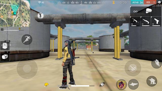 Update terbaru di game Advance Server bukan hanya update tentang fitur tapi ada beberapa  Advance Server FF Renovasi Bangunan Factory Dan Bendungan Bimasakti