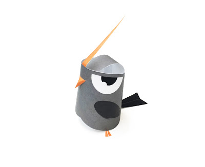 Pipo bird paper toy  and video