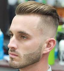 Style Side Fringe Haircut Male