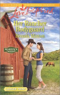 Heidi Reads... Her Rancher Bodyguard by Brenda Minton