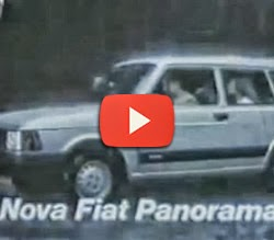Propaganda do Fiat Panorama em 1983. Modelo Perua do Fiat 147.