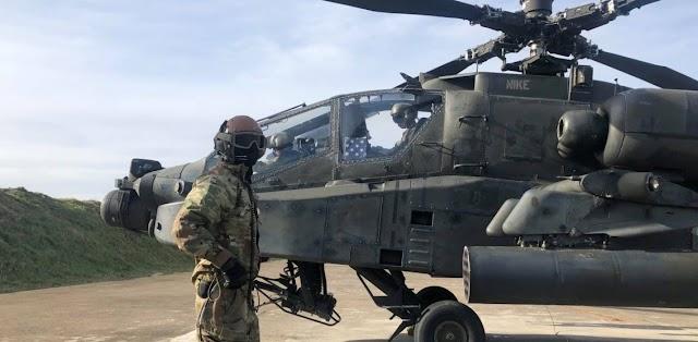 Αμερικάνικη αεραπόβαση: Συνεκπαίδευση Ελλάδας - ΗΠΑ μακράς διαρκείας στο Στεφανοβίκι