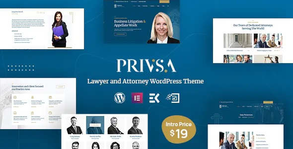 Best Lawyer and Attorney WordPress Theme