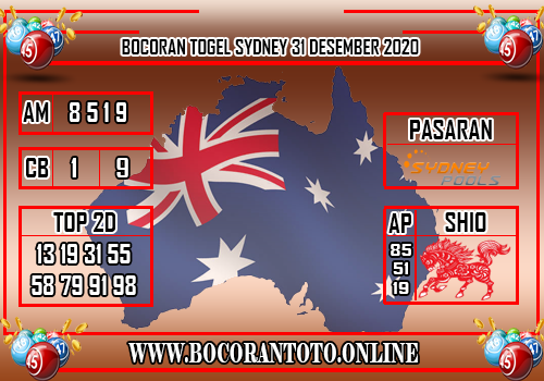 Bocoran Sydney 31 Desember 2020