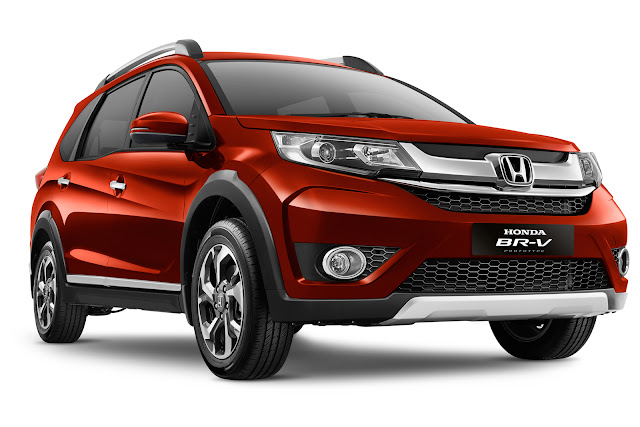 Honda BR-V (Bold Runabout Vehicle) SUV Crossover 7 Seater