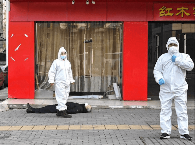 The Taiwan News newspaper finds large discrepancies between the information provided by China and the figures that technology offered on several occasions. Has a Chinese company leaked the real data on coronavirus deaths?