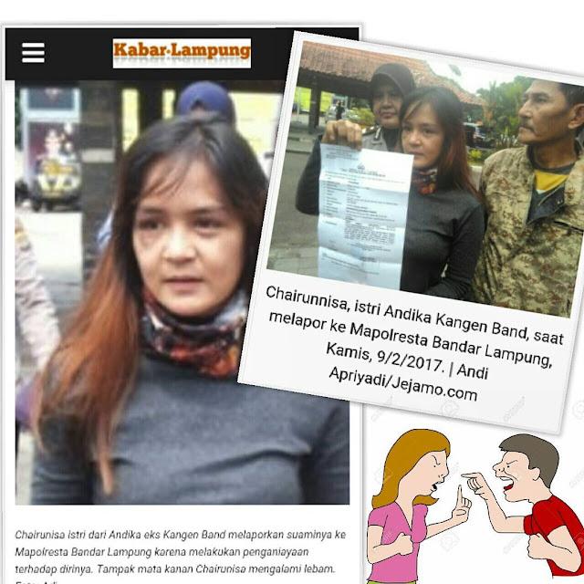 KDRT terhadap Istri, Andika eks Kangen Band DiLaporkan Polisi! Cek Foto dan Videonya!