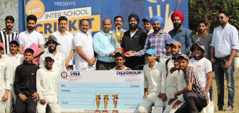 CP Cricket Academy lifts the overall trophy