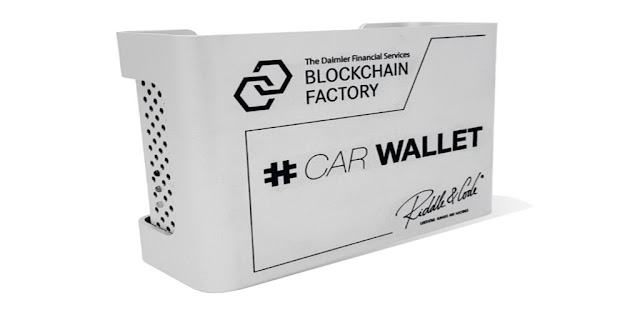 Daimler and RIDDLE&CODE launch DLT enabled Hardware Wallet for Cars