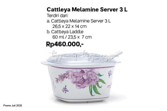 Mangkok penyaji 3l melamine tupperware