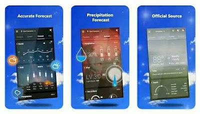 Aplikasi Ramalan Cuaca - GO Weather