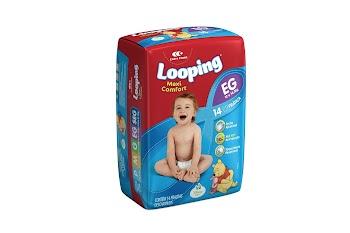Carta Fabril apresenta nova embalagem das fraldas Looping com o personagem Ursinho Pooh