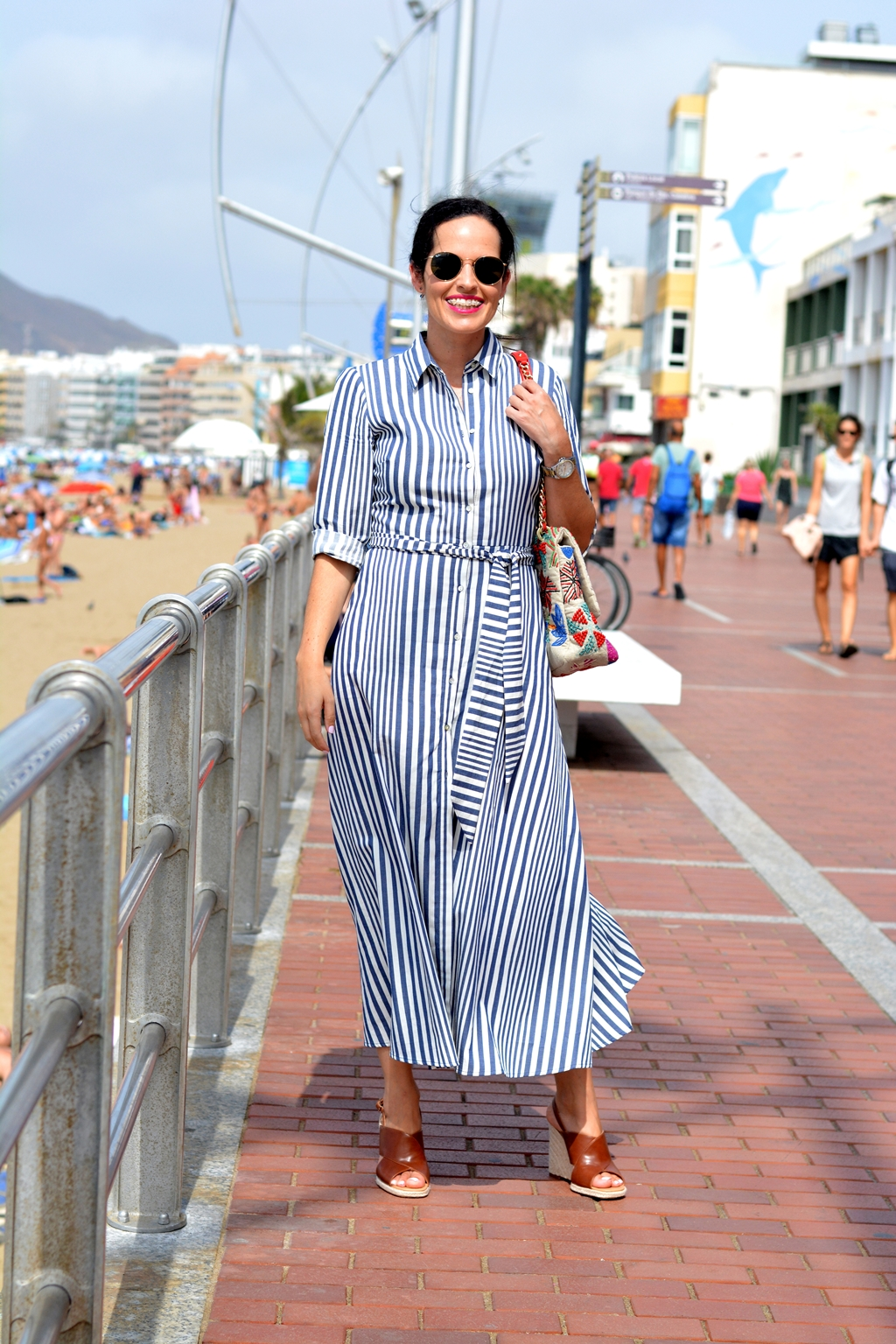 zara-striped-long-dress