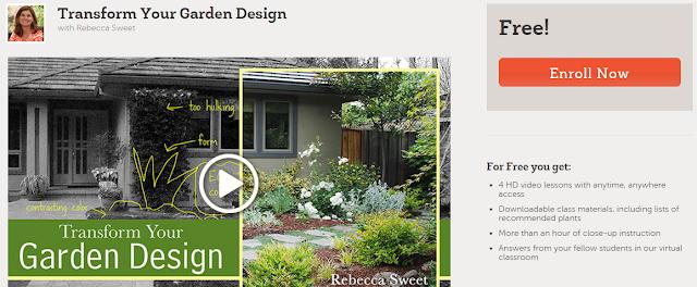Free gardening design class online