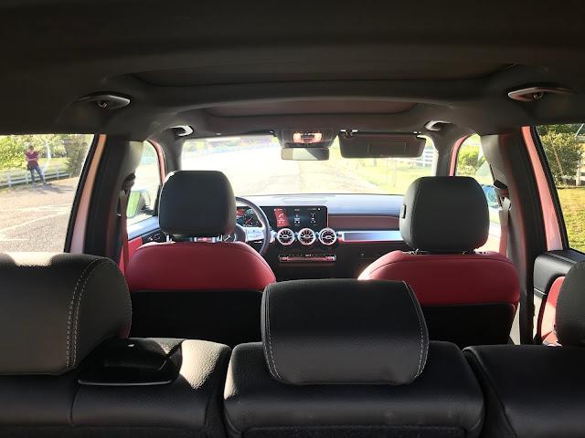 Interior view of 2020 Mercedes-Benz GLB 250 4MATIC