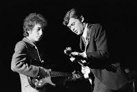 Bob Dylan und Robbie Robertson 1965