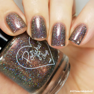 Polished For Days For The Love Of Polish Believe In Fairytales Swatches and Review