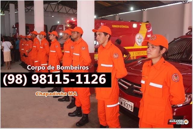 Emergência? (98) 98115-1126 este é o telefone do corpo de Bombeiros de Chapadinha.