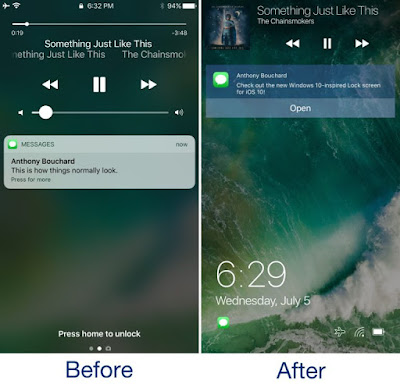 Ventana-Before-and-After-Windows-10-Lock-Screen-iPhone-768x738 Ventana offers your iPhone a Home windows 10-inspired Lock display iPhone Jailbreak