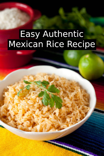 Easy Authentic Mexican Rice Recipe #mexicanrice #mexicanrecipe #sidedish #maindish #dish #easydinnerrecipe