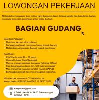 Lowongan Pekerjaan di At Sepatuku Surabaya September 2021