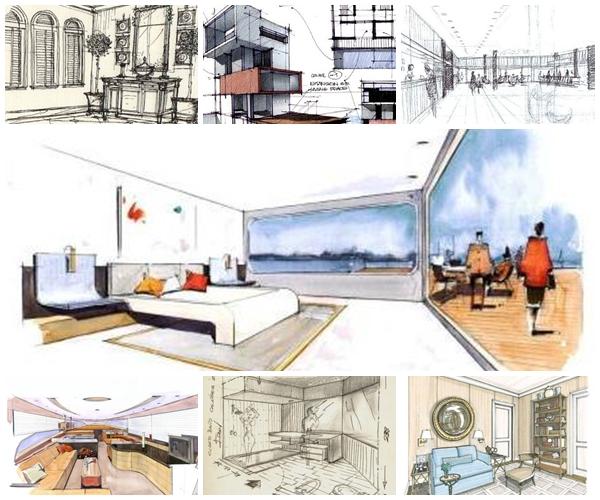 Revista digital apuntes de arquitectura apuntes trazos y bocetos interiores - Arquitecto de interiores ...