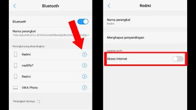 Cara Mengatasi Tidak Bisa Tethering Hotspot Menggunakan Bluetooth