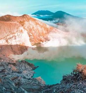 Danau Paling Asam di Dunia Ada di Indonesia, Dimana?