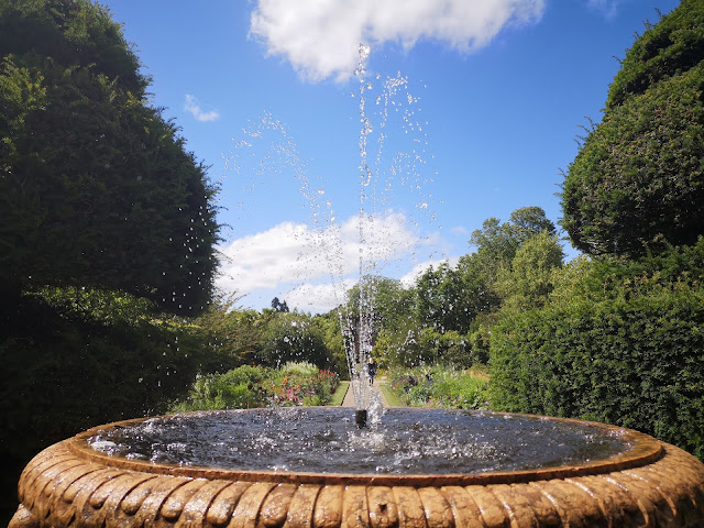 Fountain at Nymans