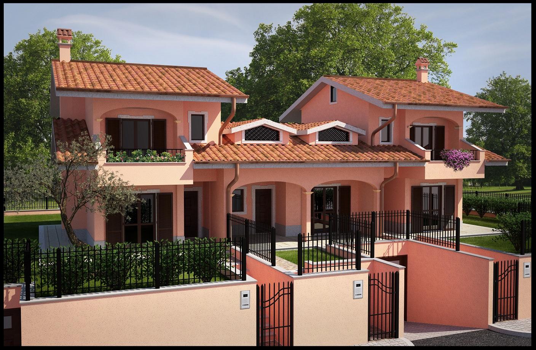 Simo render esterni di modelli realizzati for Modelli case 3d