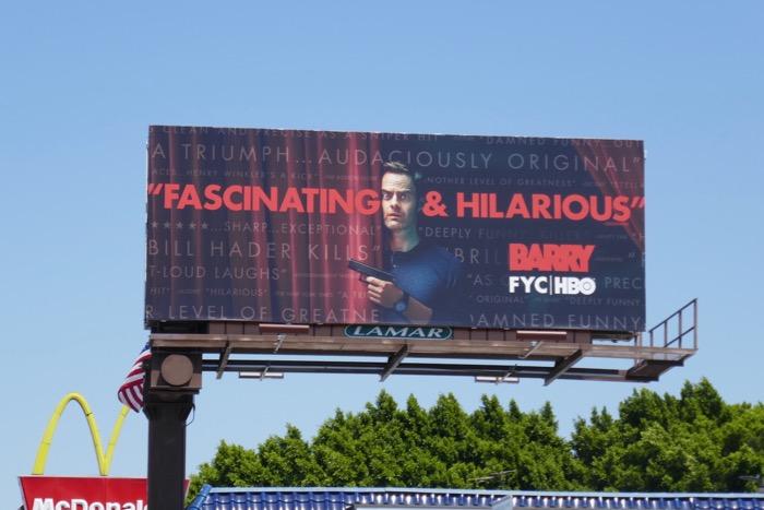 Barry season 2 Emmy FYC billboard