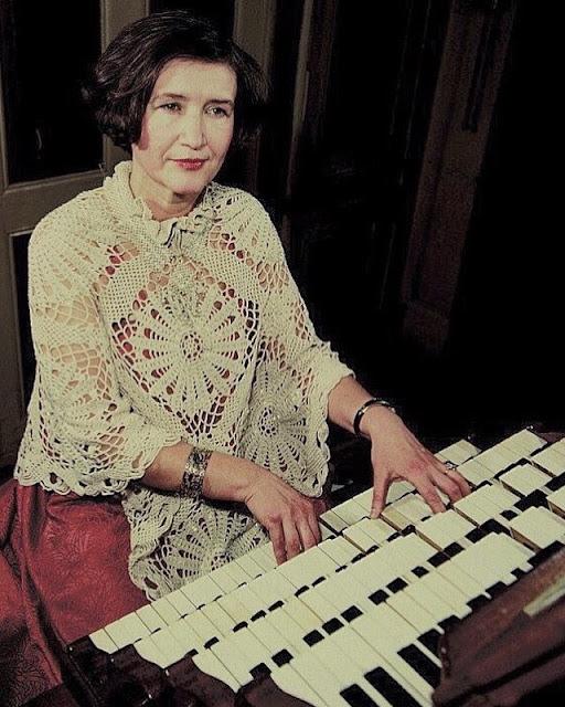 1978 год. Рига. Концертный зал органной музыки (Домский собор). Евгения Лисицына