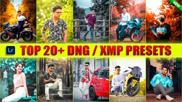 Download 20+ DNG & XMP Lightroom Presets In One Click By Deepak Creations
