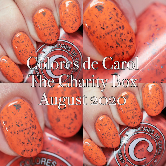 Colores de Carol The Charity Box Creepicute Creatures April 2020