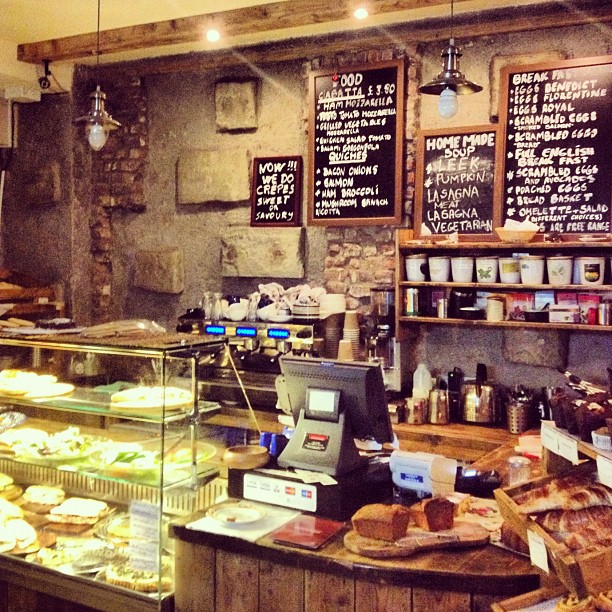 Rustic French cafe in Islington - London lifestyle blog