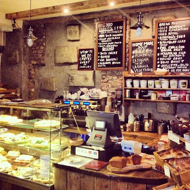 Rustic Coffee Shop Decor