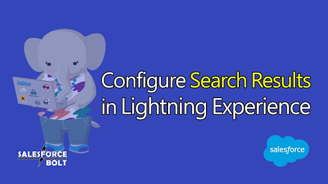 Configure Search Results in Lightning Experience Salesforce