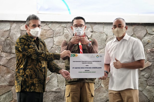Jabar Terima Bantuan 700 Tabung Oksigen, Langsung Disalurkan ke Kabupaten/Kota