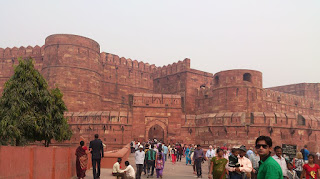 Agra Fort Entrance Gate