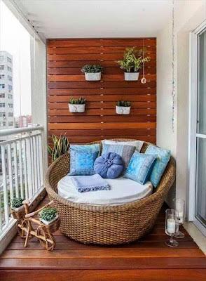 varanda com jardim vertical