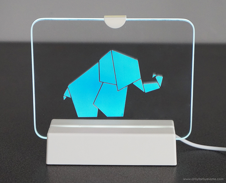Baby Elephant Night Light