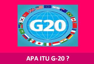 Apa itu g20
