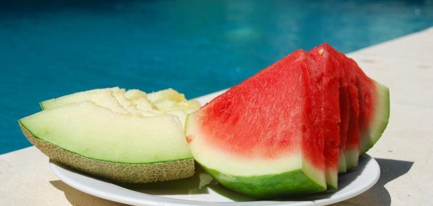 الزراعة بغزة توضح حقيقة وجود حالات تسمم بسبب البطيخ والشمام